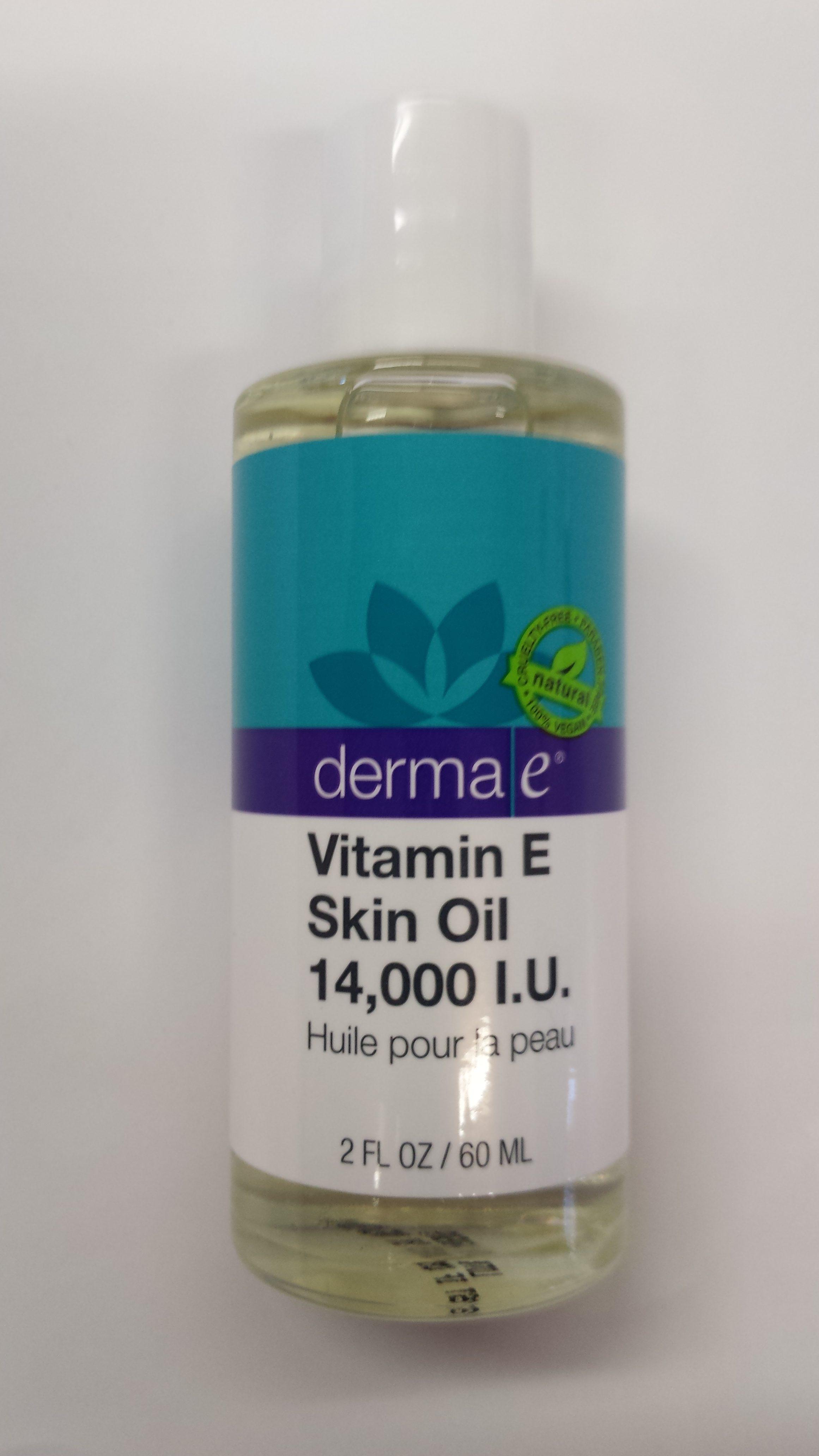 Vitamin e for skin health